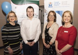Dr Aine Connolly, Senior Clinical Neuro Psychologist, Stroke Services, TUH & Naas General Hospital; Adam Harris, Founder and Chief Executive of AsIAm; Geraldine Kyle, Nurse Tutor in the Centre for Learning & Development; and Shauna Ennis, Head of the Centre for Learning & Development at TUH.