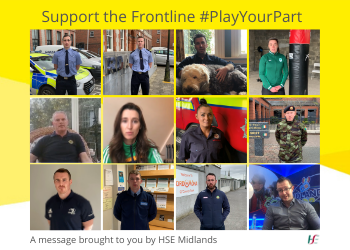 Support the frontline playyourpart 350x250