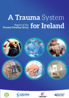 Report of the Trauma Steering Group front page preview