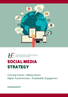 Social media strategy front page preview