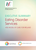 HSE Eating Disorder Services - Executive Summary front page preview