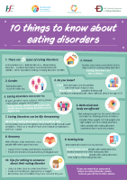 HSE 10 things to know about eating disorders front page preview