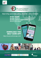 HSE Eating Disorders App Poster front page preview