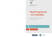 HSE Evaluation of PiLaR Programme front page preview