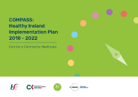 COMPASS Healthy Ireland implementation plan front page preview