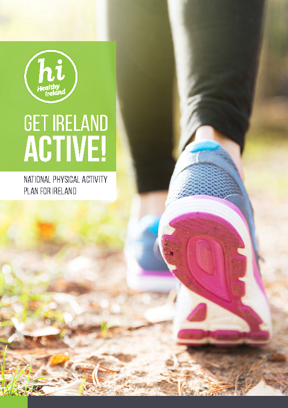 Get Ireland Active!  National Physical Activity Plan for Ireland front page preview