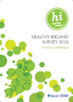 Healthy Ireland Survey 2018 Summary of Findings front page preview