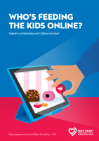 Who's Feeding the Kids Online Report 2016 front page preview