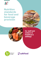 Nutrition standards for food and beverage provision for staff and visitors in healthcare settings front page preview