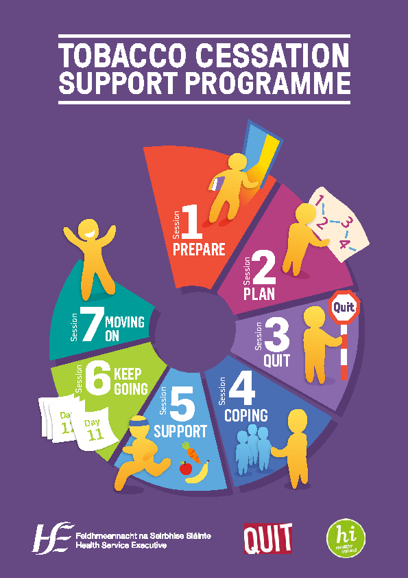 Tobacco Cessation Support Programme front page preview