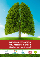 Smoking Cessation and Mental Health briefing document front page preview