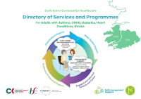Cork Kerry Community Healthcare: Directory of Services and Programmes for Adults with Asthma, COPD, Diabetes, Heart conditions and Stroke front page preview