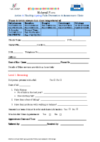 Falls Prevention referral form front page preview