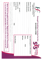 Smoking Cessation Referral Card front page preview