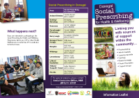Social Prescribing Brochure front page preview
