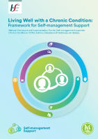 Living Well with a Chronic Condition: Framework for self-management support  front page preview