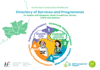Waterford, Wexford, Kilkenny, Carlow and Tipperary South: Directory of Services and Programmes for Adults with Asthma, COPD, Diabetes, Heart conditions and Stroke front page preview