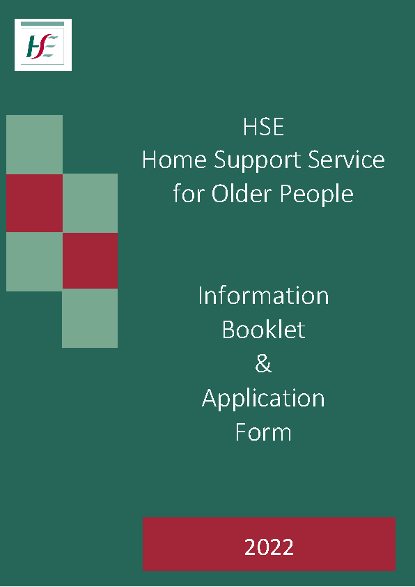 Home Care Package Information Booket front page preview