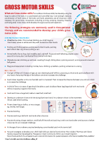 Paediatric Occupational Therapy: Gross Motor Skills front page preview