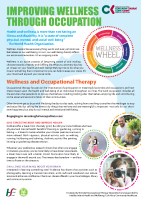 Occupations and Wellness front page preview