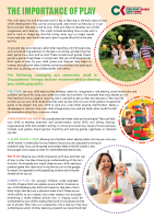 Paediatric Occupational Therapy: Play skills front page preview