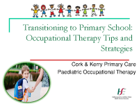 Paediatric Occupational Therapy: Transitioning to Primary School front page preview