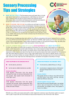 Paediatric Occupational Therapy: Sensory Processing front page preview