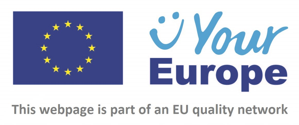 Logo for Your Europe survey