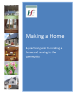 Making a Home - A practical guide to creating a home and moving to the community July 2019 front page preview