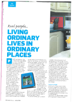 Paddy and Michael - Living ordinary lives in ordinary places front page preview