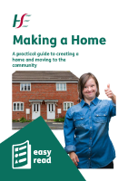 Making a Home - easy read version front page preview