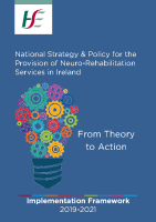 National Strategy & Policy for the Provision of Neuro-Rehabilitation Services in Ireland front page preview