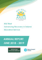 Mid West ARIES Annual Report June 2018-2019 front page preview