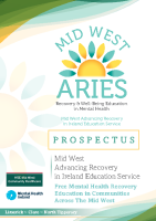 Mid West ARIES Community Prospectus front page preview
