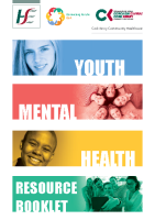 Cork Youth Mental Health Resource booklet  front page preview
