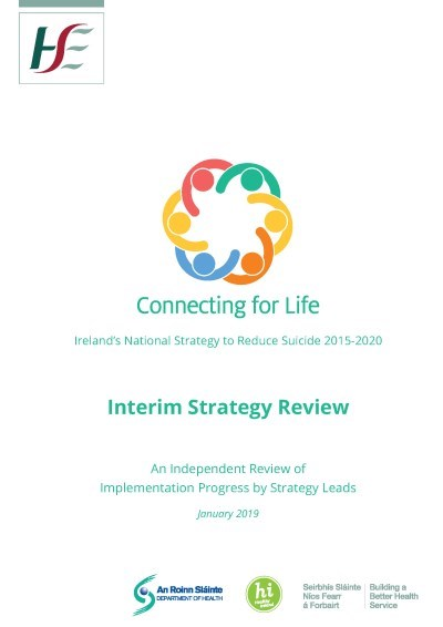 Connecting for Life Interim Strategy review cover