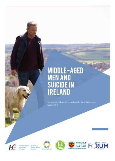 Middle-Aged Men and Suicide in Ireland Cover