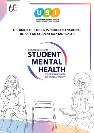 USI Student Mental Health report cover