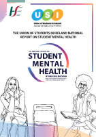 USI Student Mental Health report (updated)  front page preview