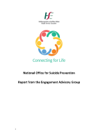 Report - Engagement Advisory Group front page preview
