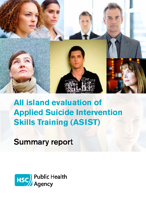 Evaluation ASIST Training 2011 front page preview
