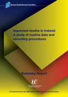 Inquested Deaths in Ireland - Summary front page preview