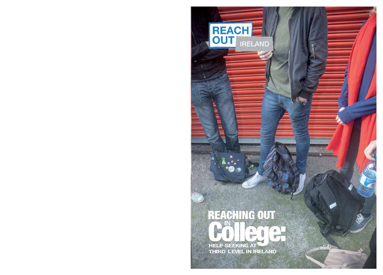 Reaching out in college: Help-seeking at third level in Ireland front page preview