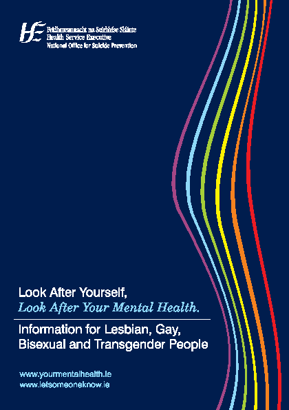 Mental Health LGBT front page preview