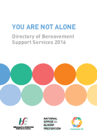 Not Alone Services Directory front page preview