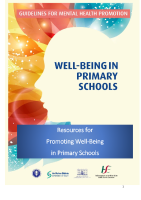 Resource Material WellBeing in primary schools front page preview