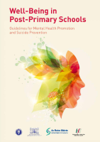 Wellbeing In PostPrimary Schools front page preview