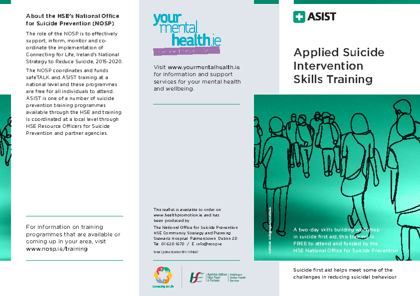ASIST leaflet front page preview
