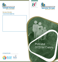Perinatal OCD information for Carers (printable version) front page preview