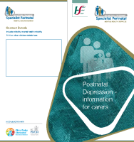 Postnatal Depression Information for Carers (printable version) front page preview